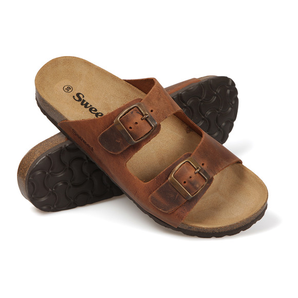 Sweet Womens Brown Malaga Sandal main image