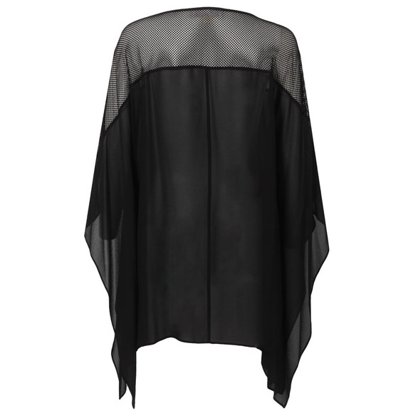 Michael Kors Womens Black Flutter Top main image