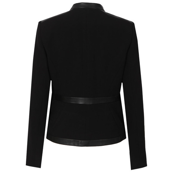 Michael Kors Womens Black Bordered Jacket main image