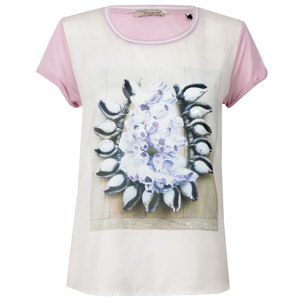 Short Sleeve Photoprinted Top main image