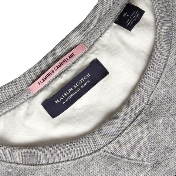 Maison Scotch Womens Grey Vintage Inspired Summer Sweat main image