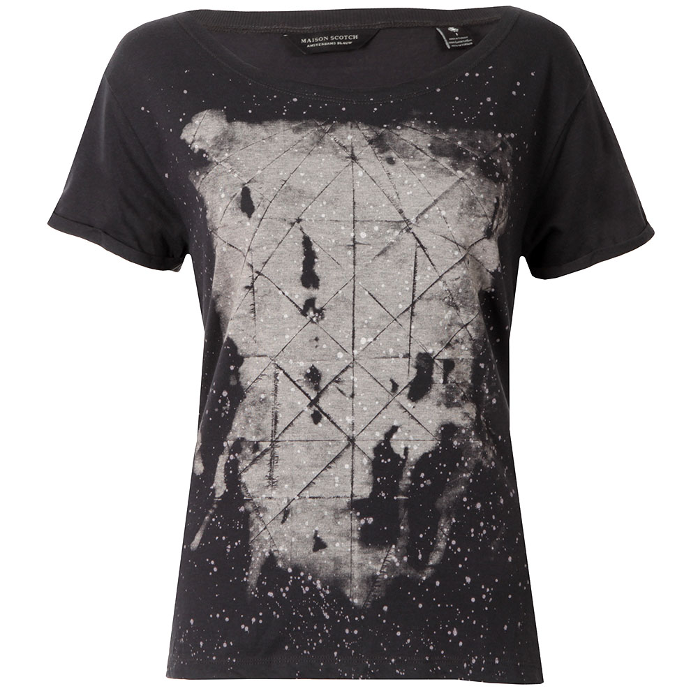 Black & White Print T Shirt main image