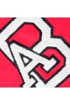 Maison Scotch Womens Red Print AB Logo Sweat