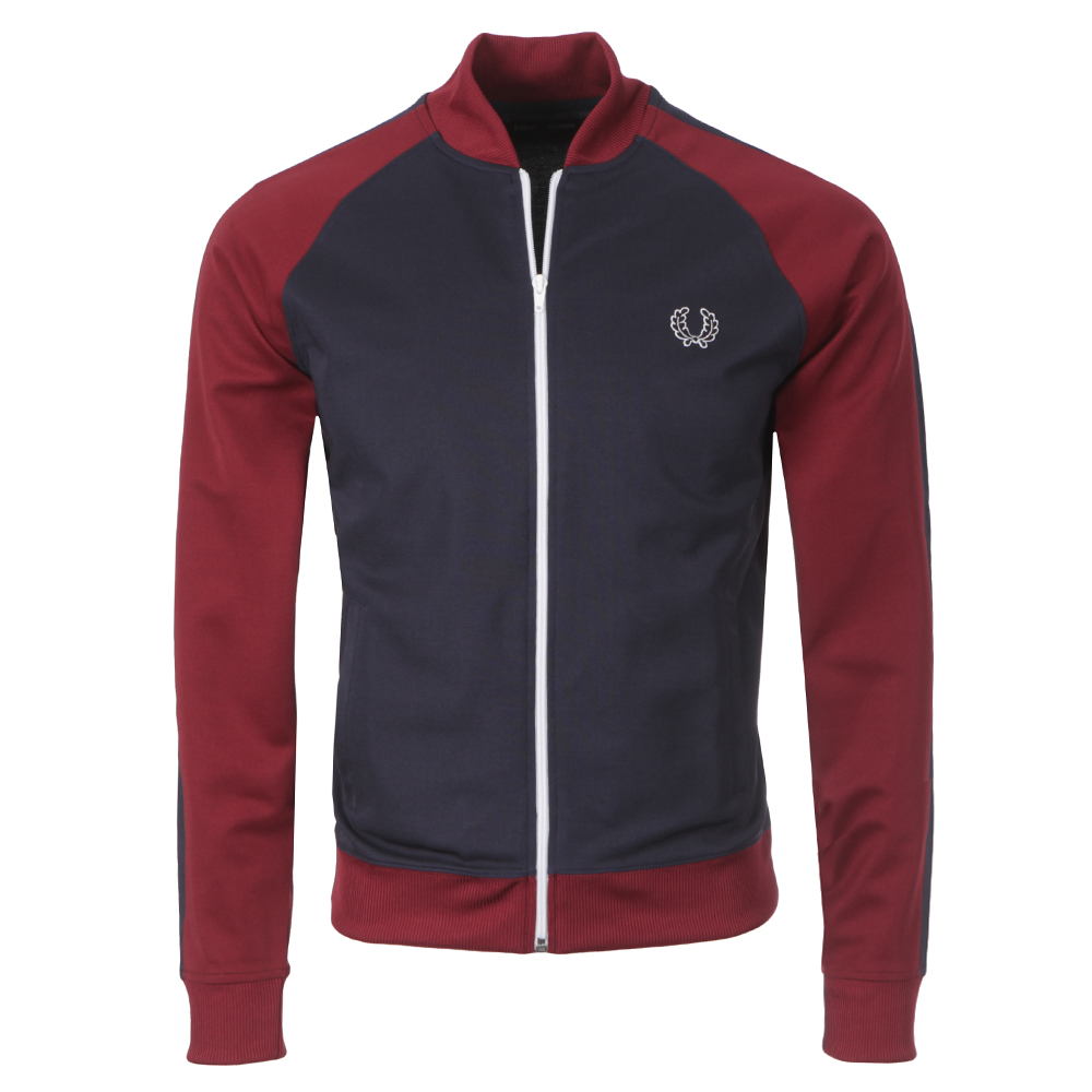 fred perry sportswear bomber track jacket masdings. Black Bedroom Furniture Sets. Home Design Ideas