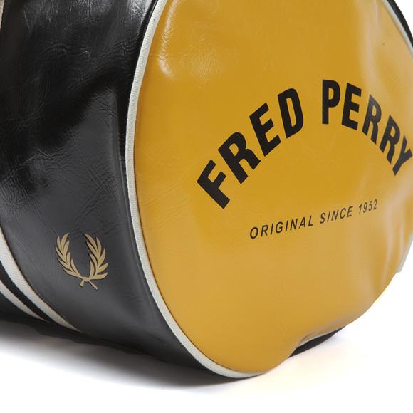 Fred Perry Sportswear Mens Black Classic Barrel Bag main image