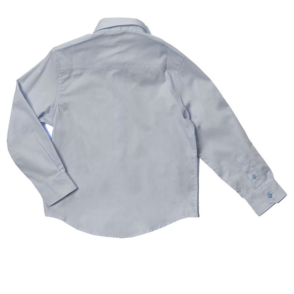 Boss Boys Blue J25977 Plain Shirt main image