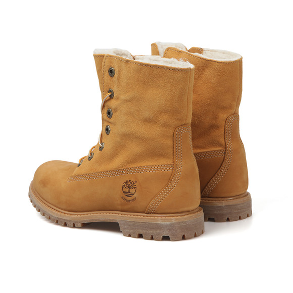 Timberland Womens Beige Authentic Teddy Fleece Boot main image