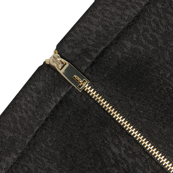 Ted Baker Womens Black Shilat Leopard  Jacquard Suit Trouser main image