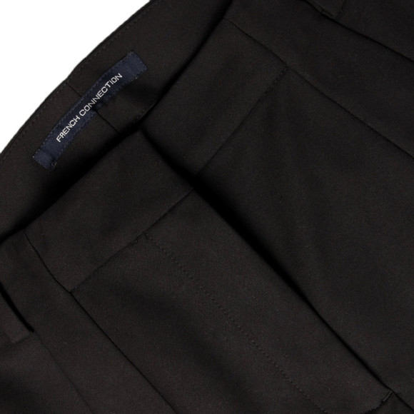 French Connection Womens Black Glass Stretch Trouser main image