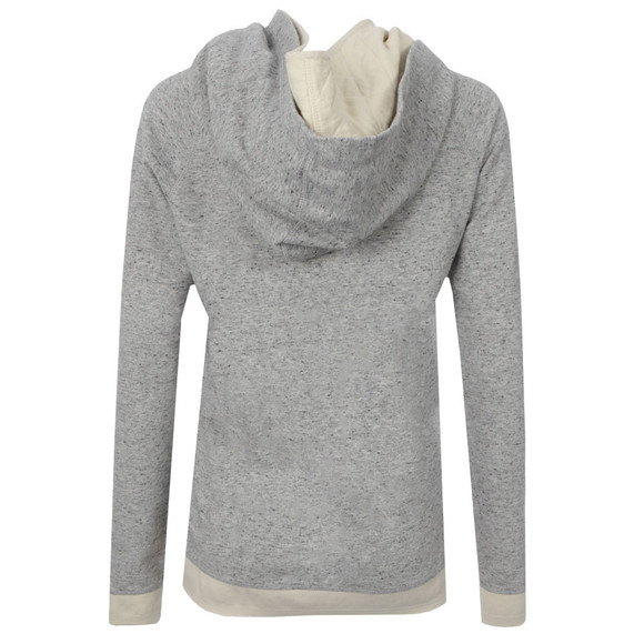 Maison Scotch Womens Grey Home Alone Double Hooded Sweat main image