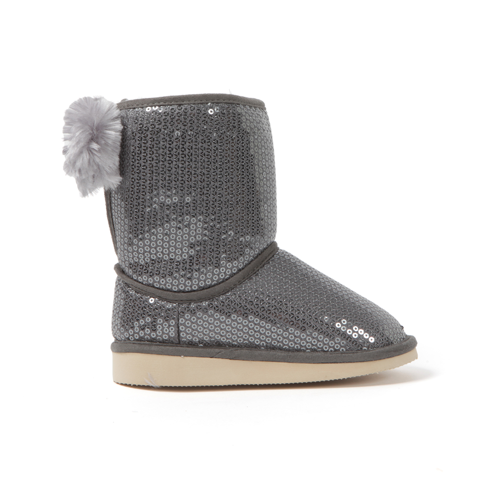 Sequin Fur Lined Boot main image