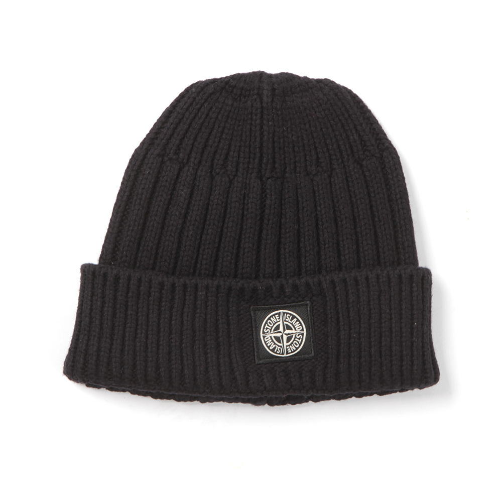 Boys Knitted Ribbed Beanie main image