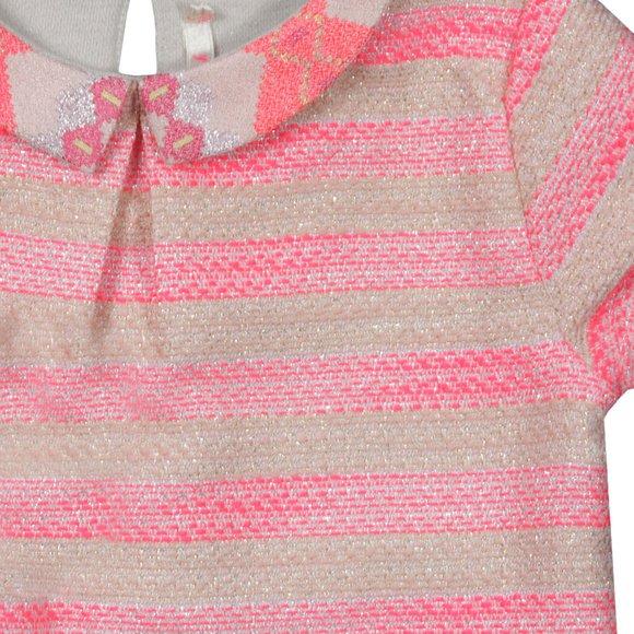Billieblush Girls Pink Girls Stripe Collared Dress main image