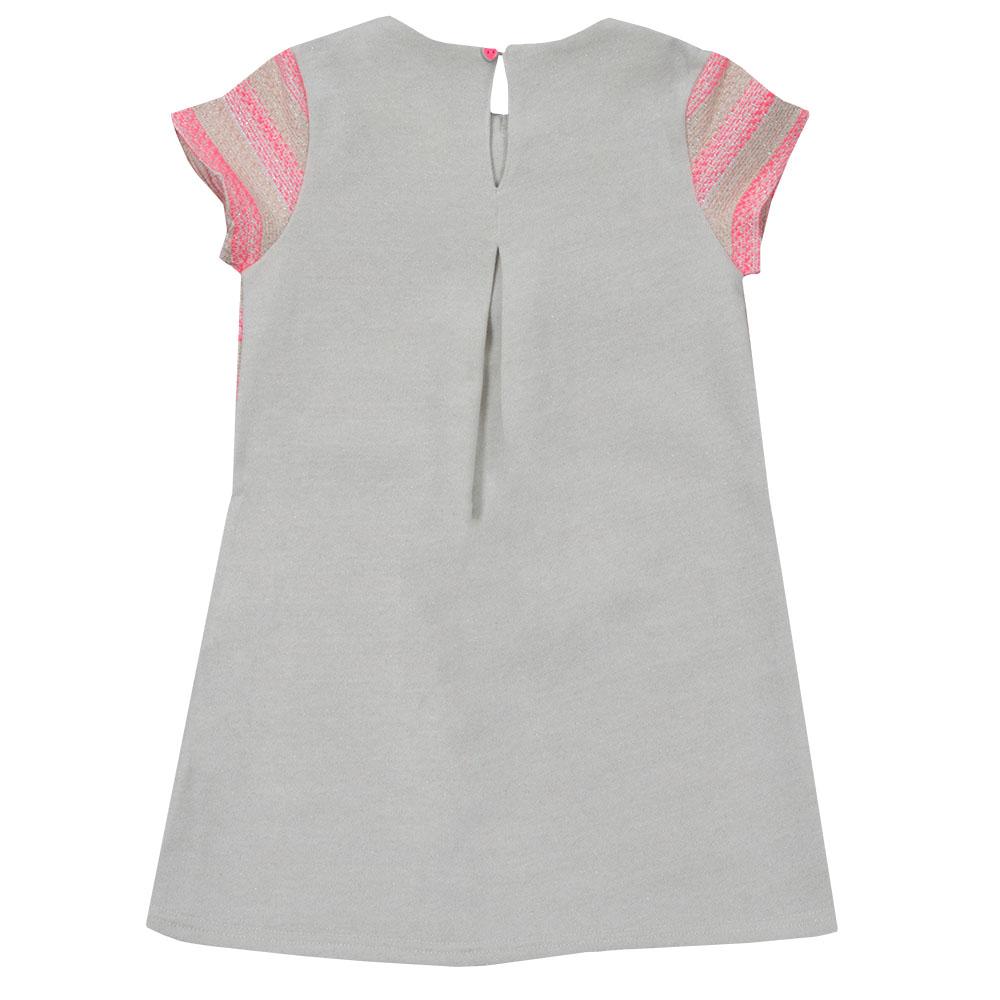 Girls Stripe Collared Dress main image