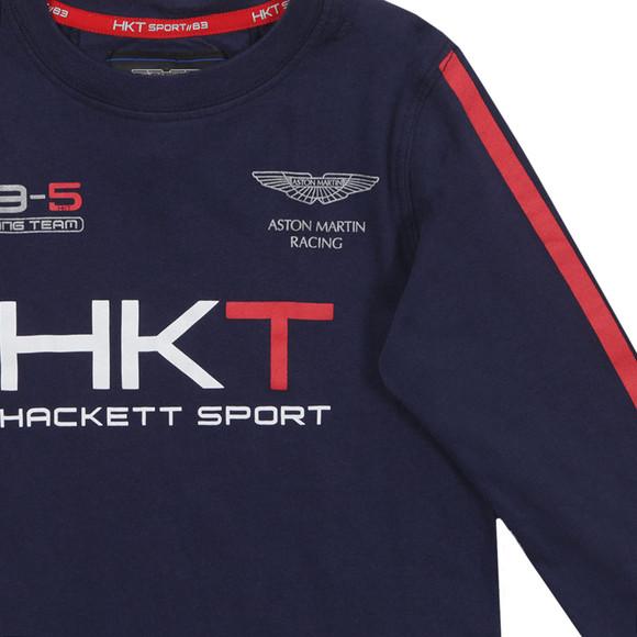 Hackett Boys Blue Aston Martin Racing HKT T Shirt main image