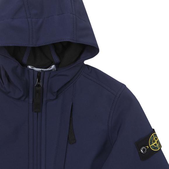 Stone Island Junior Soft Shell Jacket Oxygen Clothing