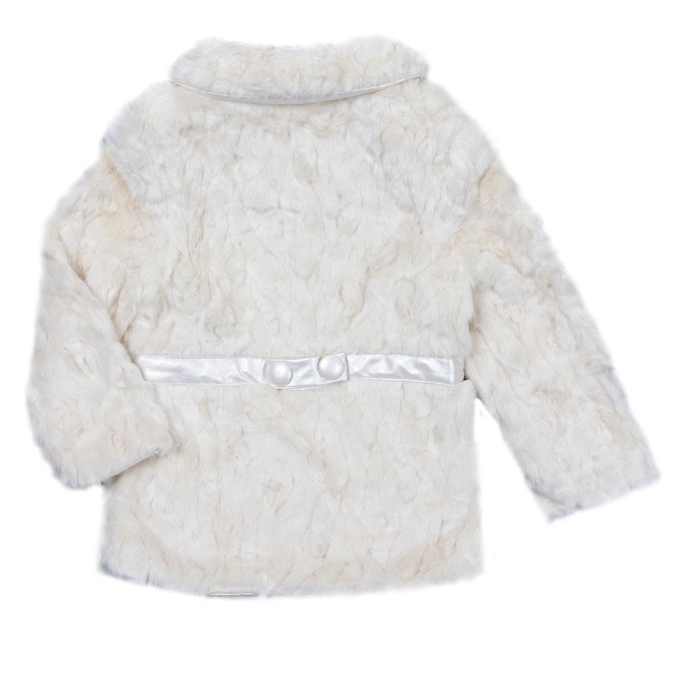 Girls Faux Fur Coat main image