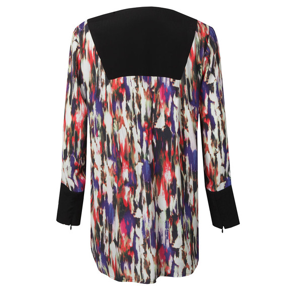 French Connection Womens Multicoloured Pattern Top main image