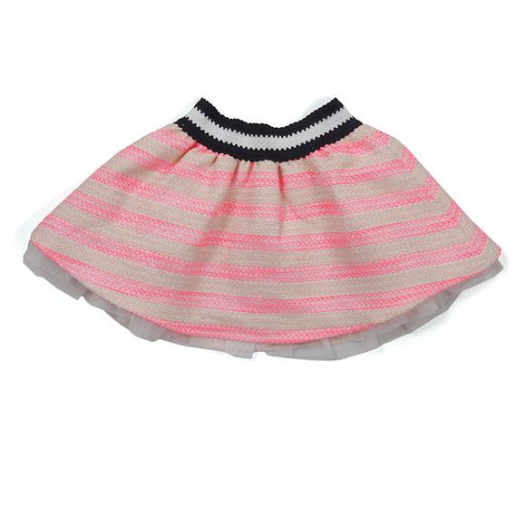 Billieblush Girls Pink Girls Stripe Skirt main image