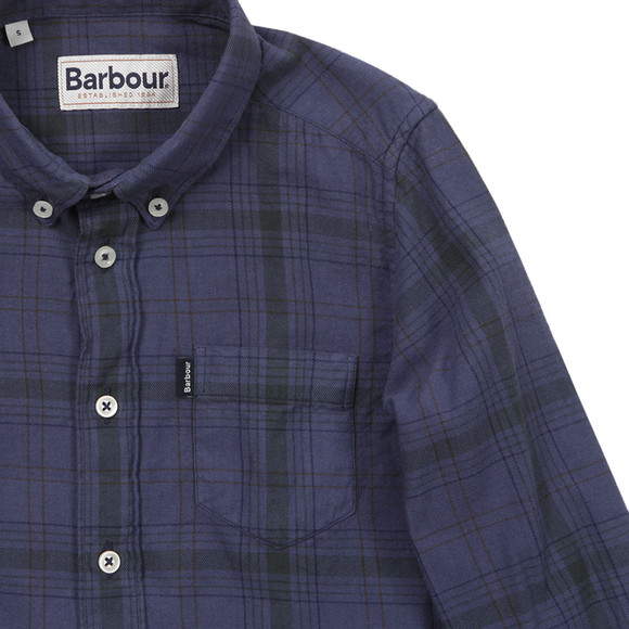 Barbour Countrywear Boys Blue Docherty Shirt main image