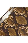 Michael Kors Womens Bronze Snake Print Dress