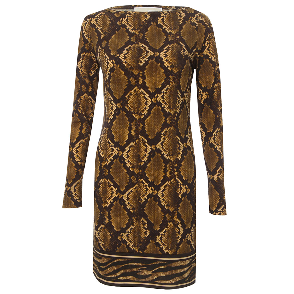 Snake Print Dress main image