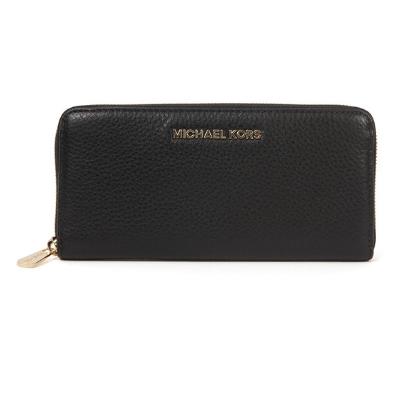 Michael Kors Womens Black Gold Bedford Continental Purse main image