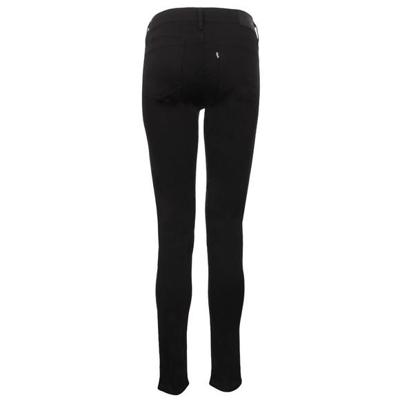 Levi's Womens Black 711  Skinny Jean main image