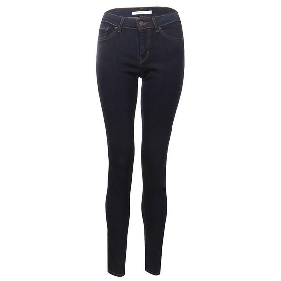 Levi's Womens Blue 711  Skinny Jean main image