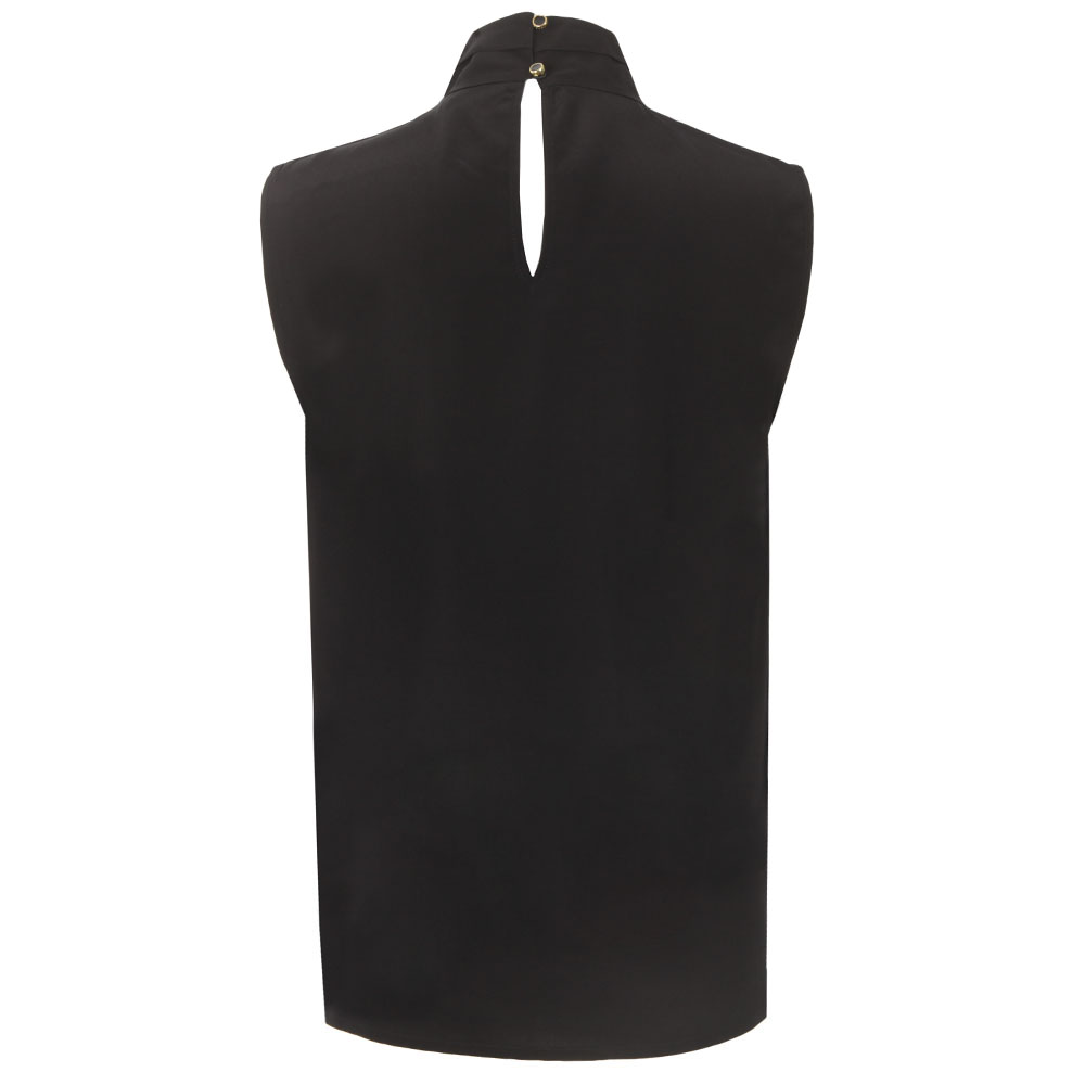 Syna Soft Scarf Neck Sleeveless Top main image