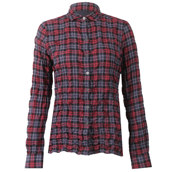 Barbour Lifestyle Womens Red Barlett Check Shirt main image