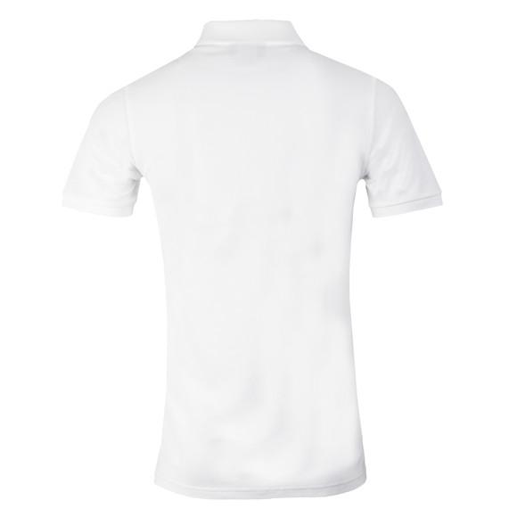Psycho Bunny Mens White Classic Polo Shirt main image