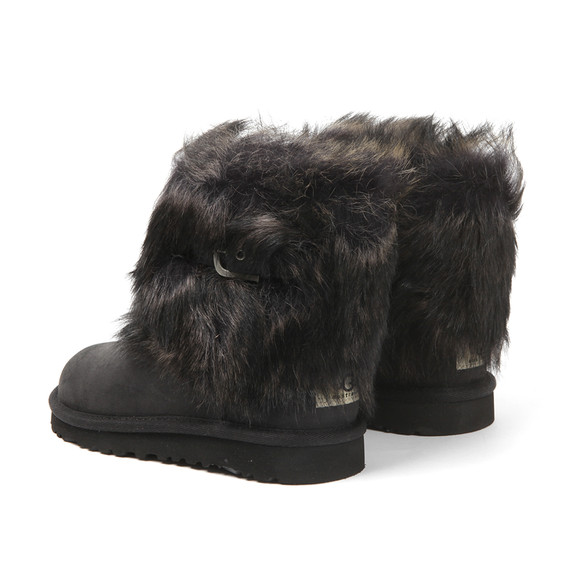 Ugg Girls Black Ellee Leather Boot main image