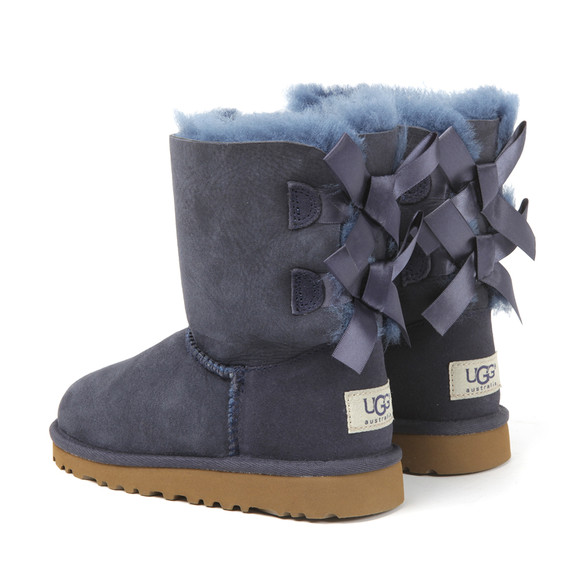 Ugg Girls Blue Bailey Bow Boot main image