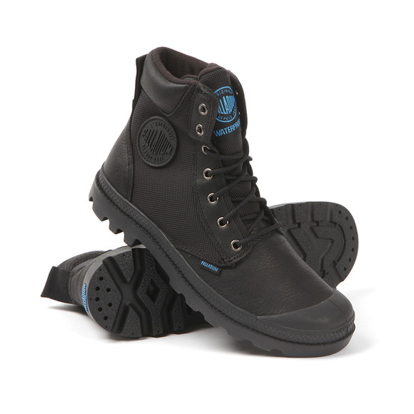 Palladium Mens Black Pampa Sport Cuff Boot main image
