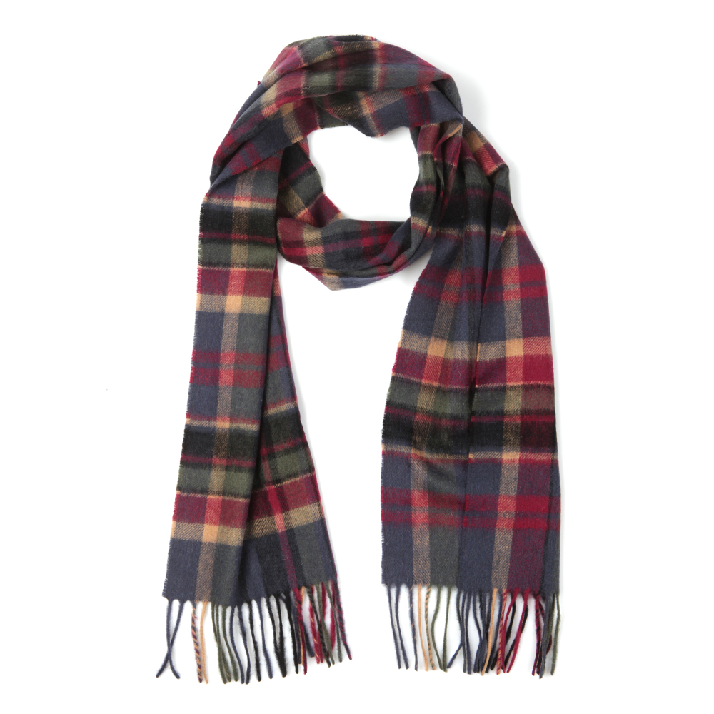 Vintage Winter Plaid Scarf main image