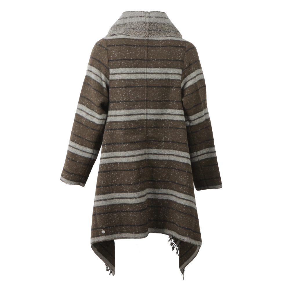 Warm Wool Blend Poncho main image