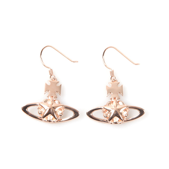 Vivienne Westwood Womens Pink Astrid Drop Earrings main image