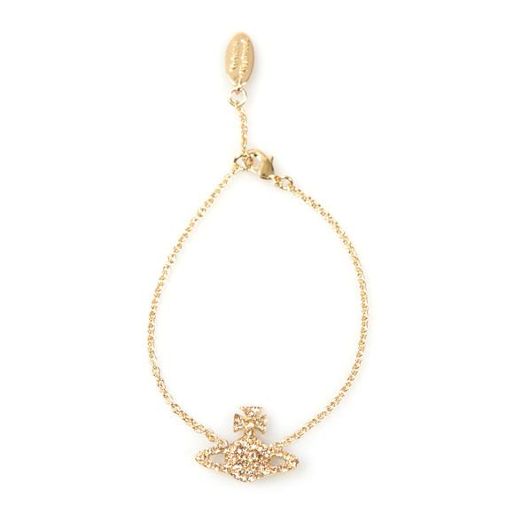 Vivienne Westwood Womens Gold Grace Bas Relief Bracelet main image