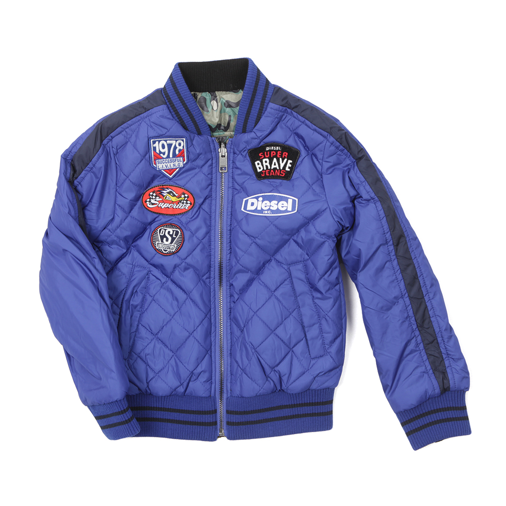 Boys Jlumys Quilted Jacket main image