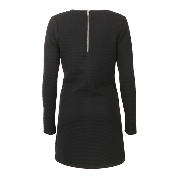 Maison Scotch Womens Black Jacquard Sweat Dress main image