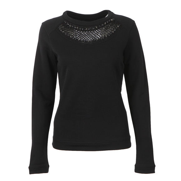 Barbour International Womens Black Katana Top main image