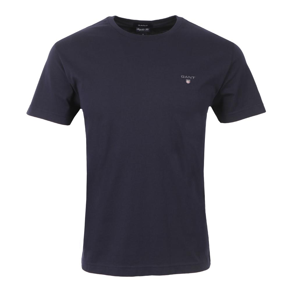 9364da971ed5ad Gant Solid Crew Neck T-Shirt | Masdings