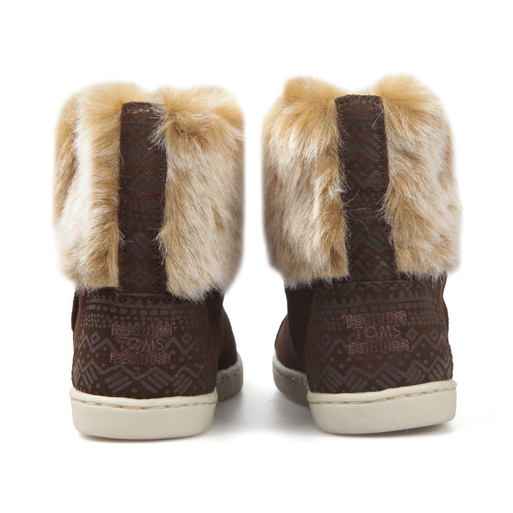 Suede Faux Fur Nepal Boot main image