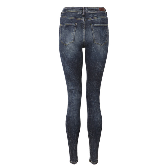 Maison Scotch Womens Blue Haut Skinny Jean main image