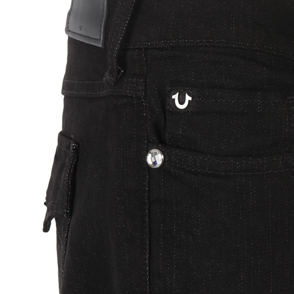 True Religion Womens Black Casey Low Rise Skinny Jean main image