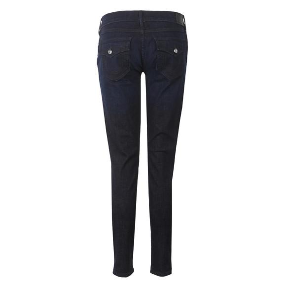 True Religion Womens Blue Casey Low Rise Skinny Jean main image