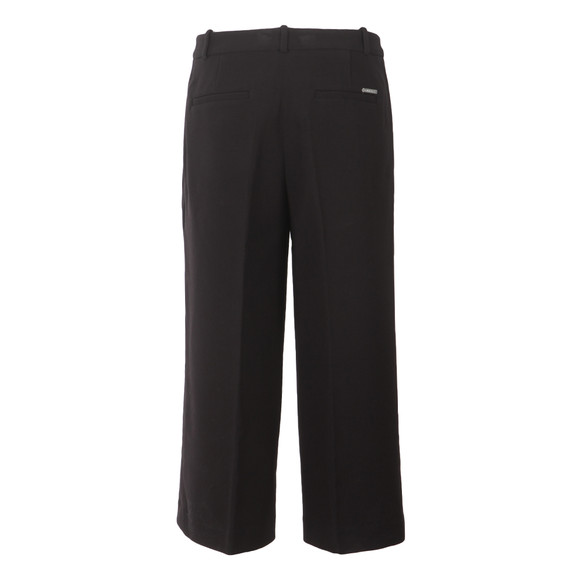 Michael Kors Womens Black Flared Trouser main image