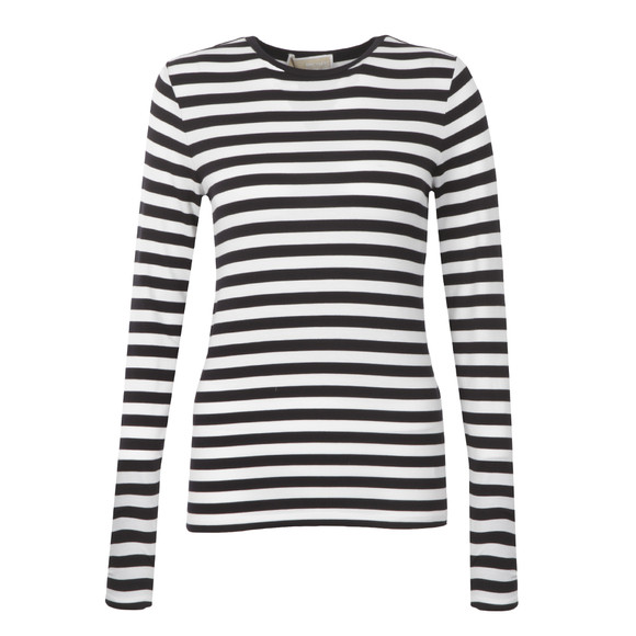 Michael Kors Womens Blue Scott Stripe T Shirt main image