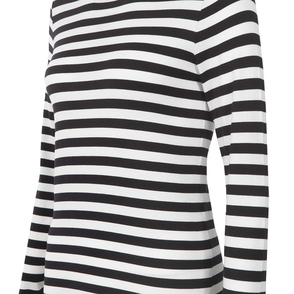 Michael Kors Womens Blue Scott Stripe T Shirt main image